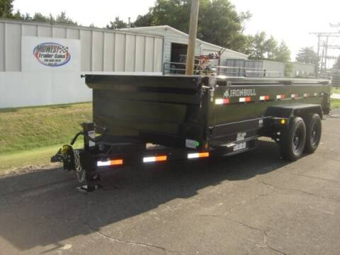 2021 83 X 16 IRON BULL DUMP for sale at Midwest Trailer Sales & Service in Agra KS