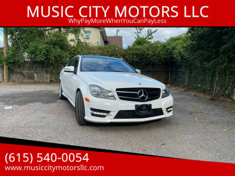 2015 Mercedes-Benz C-Class for sale at MUSIC CITY MOTORS LLC in Nashville TN