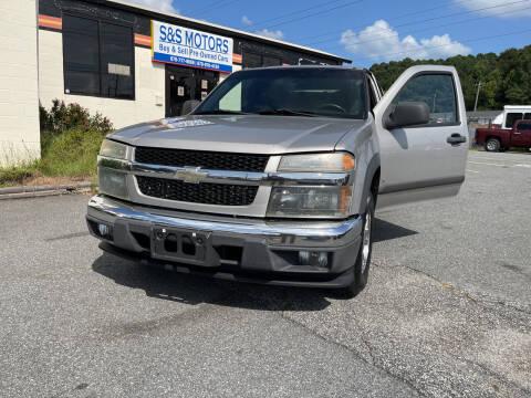 2008 Chevrolet Colorado for sale at S & S Motors in Marietta GA