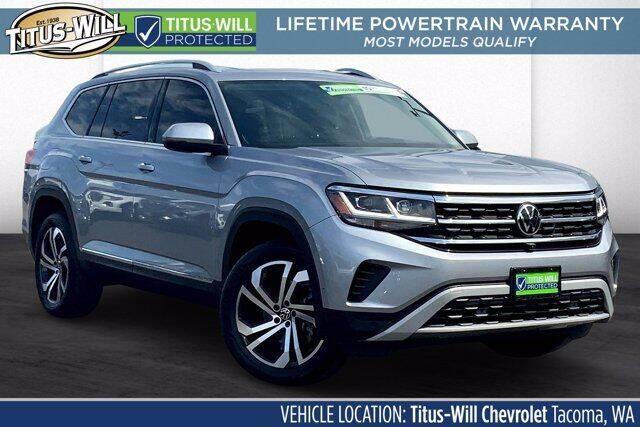 2021 Volkswagen Atlas for sale in Parkland, WA