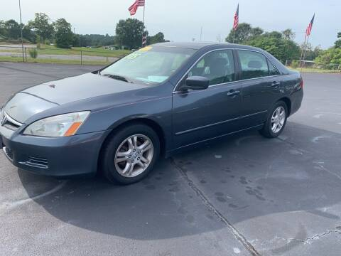 2007 Honda Accord for sale at Doug White's Auto Wholesale Mart in Newton NC