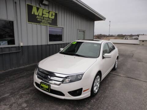 2010 Ford Fusion for sale at Moss Service Center-MSC Auto Outlet in West Union IA
