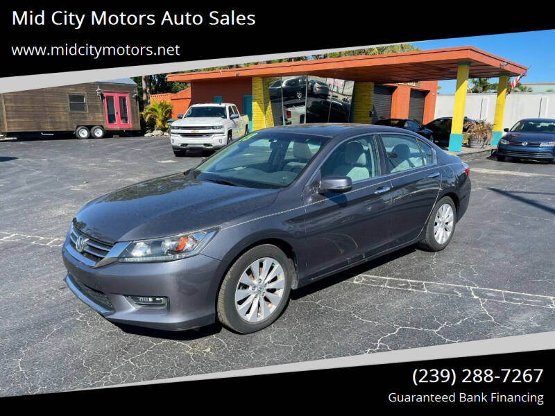 2013 Honda Accord for sale at Mid City Motors Auto Sales in Fort Myers FL