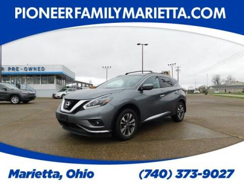 2018 Nissan Murano for sale at Pioneer Family preowned autos in Williamstown WV