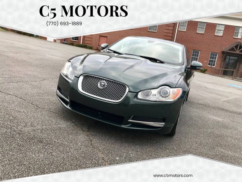 2011 Jaguar XF for sale at C5 Motors in Marietta GA