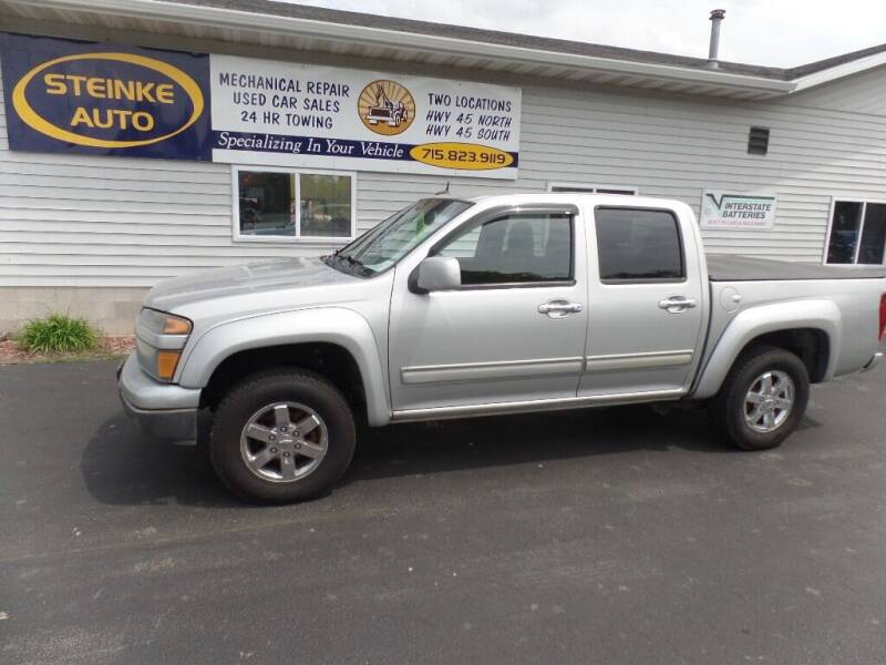 2010 Chevrolet Colorado for sale at STEINKE AUTO INC. - Steinke Auto Inc (South) in Clintonville WI