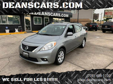 2012 Nissan Versa for sale at DEANSCARS.COM - DEANS BERWYN in Berwyn IL