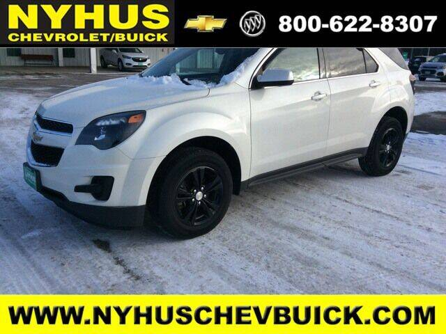 2013 Chevrolet Equinox for sale at Nyhus Chevrolet Buick in Staples MN