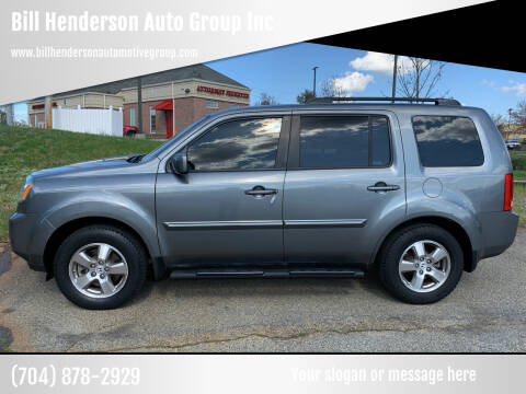 2009 Honda Pilot for sale at Bill Henderson Auto Group Inc in Statesville NC