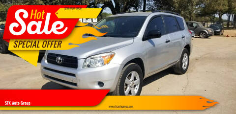 2007 Toyota RAV4 for sale at STX Auto Group in San Antonio TX