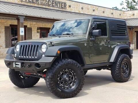 2015 Jeep Wrangler for sale at Tyler Car  & Truck Center in Tyler TX