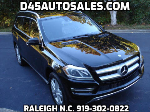 2013 Mercedes-Benz GL-Class for sale at D45 Auto Brokers in Raleigh NC