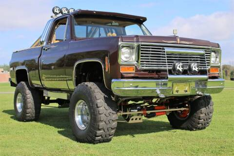 1977 Chevrolet C/K 10 Series for sale at Great Lakes Classic Cars & Detail Shop in Hilton NY
