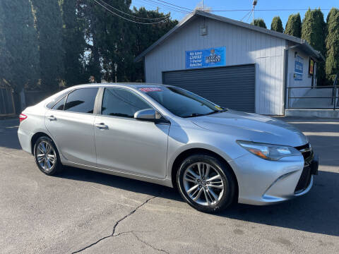 2015 Toyota Camry for sale at Blue Diamond Auto Sales in Ceres CA