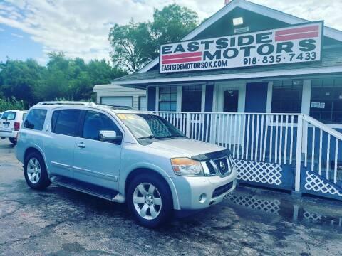 2011 Nissan Armada for sale at EASTSIDE MOTORS in Tulsa OK