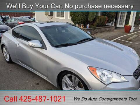 2011 Hyundai Genesis Coupe for sale at Platinum Autos in Woodinville WA