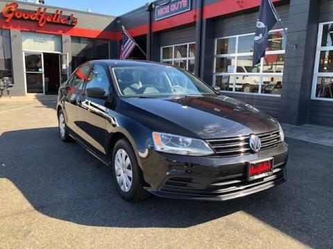 2016 Volkswagen Jetta for sale at Goodfella's  Motor Company in Tacoma WA
