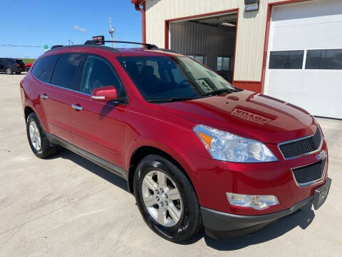 2012 Chevrolet Traverse for sale at SCOTT LEMAN AUTOS in Goodfield IL