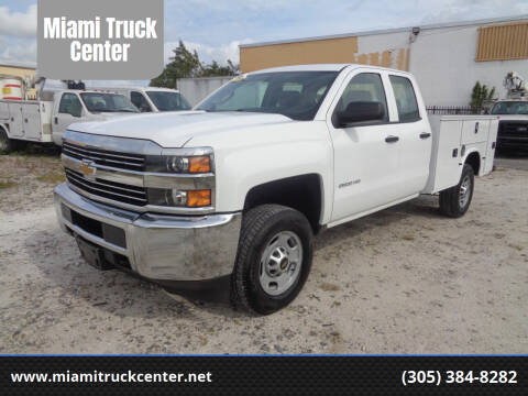 2016 Chevrolet Silverado 2500HD for sale at Miami Truck Center in Hialeah FL
