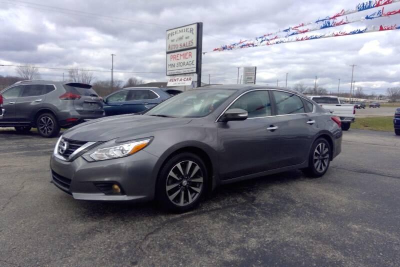 2016 Nissan Altima for sale at Premier Auto Sales Inc. in Big Rapids MI
