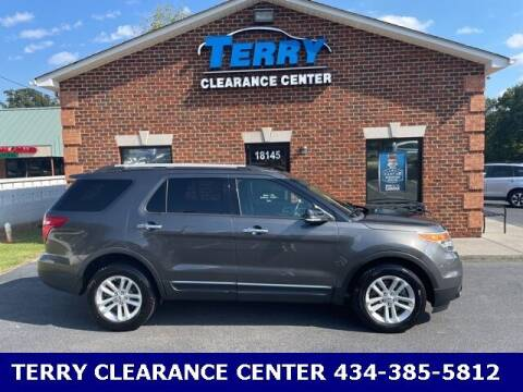 2015 Ford Explorer for sale at Terry Clearance Center in Lynchburg VA