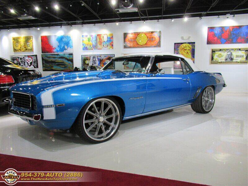 1969 Chevrolet Camaro for sale at The New Auto Toy Store in Fort Lauderdale FL