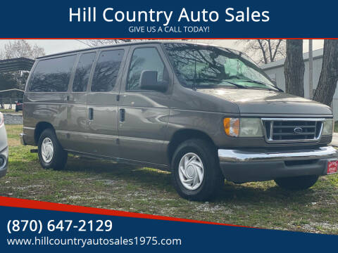 2003 Ford E-Series Wagon for sale at Hill Country Auto Sales in Maynard AR