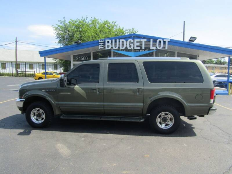 2001 Ford Excursion for sale at THE BUDGET LOT in Detroit MI
