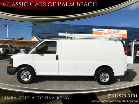 2012 GMC Savana Cargo for sale at Classic Cars of Palm Beach in Jupiter FL