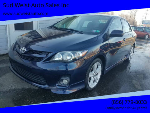 2013 Toyota Corolla for sale at Sud Weist Auto Sales Inc in Maple Shade NJ