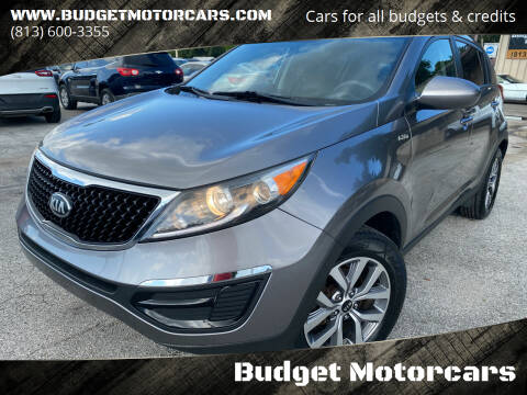 2015 Kia Sportage for sale at Budget Motorcars in Tampa FL