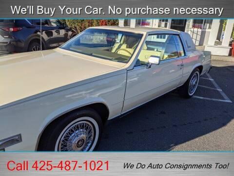 1984 Cadillac Eldorado for sale at Platinum Autos in Woodinville WA