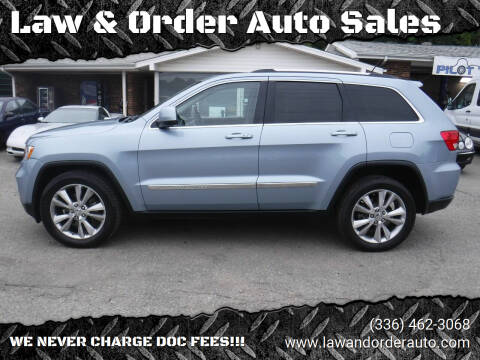 2013 Jeep Grand Cherokee for sale at Law & Order Auto Sales in Pilot Mountain NC