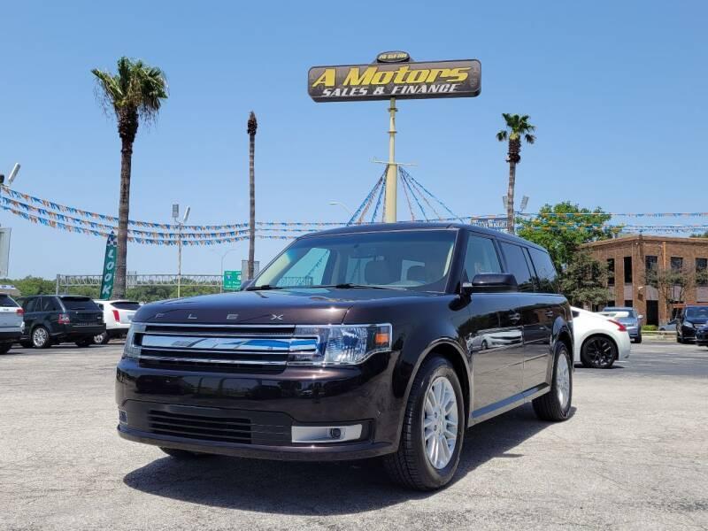 2014 Ford Flex for sale at A MOTORS SALES AND FINANCE - 10110 West Loop 1604 N in San Antonio TX