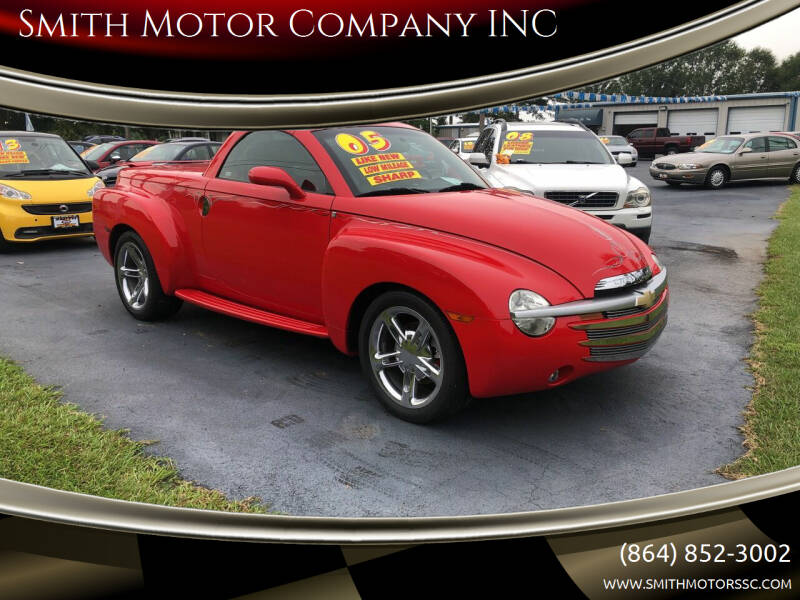 2005 Chevrolet SSR for sale at Smith Motor Company INC in Mc Cormick SC
