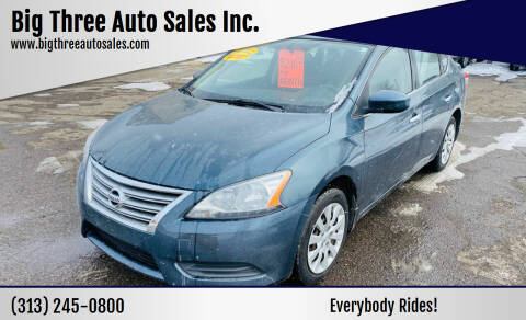 2014 Nissan Sentra for sale at Big Three Auto Sales Inc. in Detroit MI