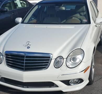 2009 Mercedes-Benz E-Class for sale at M B & D AUTO in Virginia Beach VA