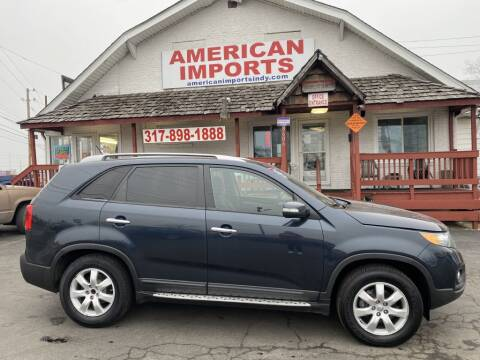 2013 Kia Sorento for sale at American Imports INC in Indianapolis IN