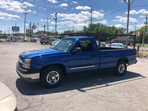 2003 Chevrolet Silverado 1500 for sale at BELL AUTO & TRUCK SALES in Fort Wayne IN