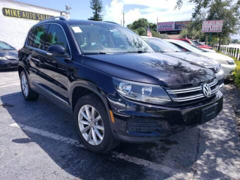 2017 Volkswagen Tiguan for sale at Mike Auto Sales in West Palm Beach FL