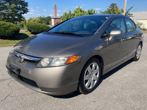 2008 Honda Civic for sale at D'Ambroise Auto Sales in Lowell MA
