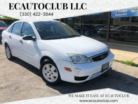 2007 Ford Focus for sale at ECAUTOCLUB LLC in Kent OH