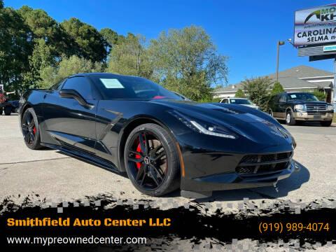 2015 Chevrolet Corvette for sale at Smithfield Auto Center LLC in Smithfield NC