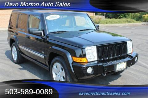 2006 Jeep Commander for sale at Dave Morton Auto Sales in Salem OR