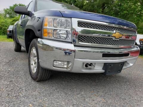 2013 Chevrolet Silverado 1500 for sale at Jacob's Auto Sales Inc in West Bridgewater MA