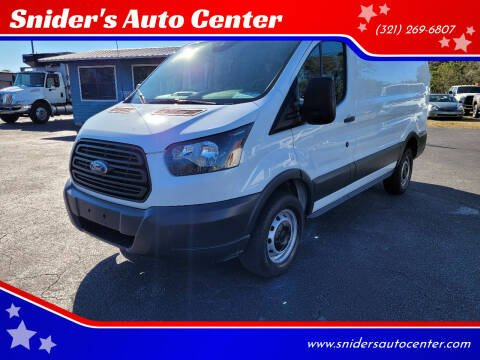 2017 Ford Transit Cargo for sale at Snider's Auto Center in Titusville FL