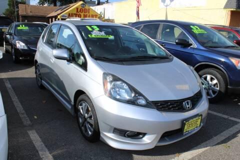 2013 Honda Fit for sale at Lodi Auto Mart in Lodi NJ