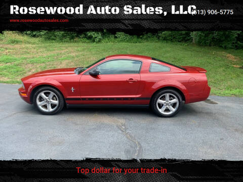 2008 Ford Mustang for sale at Rosewood Auto Sales, LLC in Hamilton OH