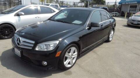 2010 Mercedes-Benz C-Class for sale at Luxor Motors Inc in Pacoima CA