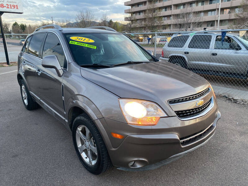 2012 Chevrolet Captiva Sport for sale in Colorado Springs, CO